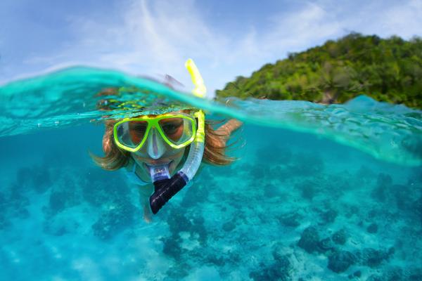Deportes y actividades. Snorkel