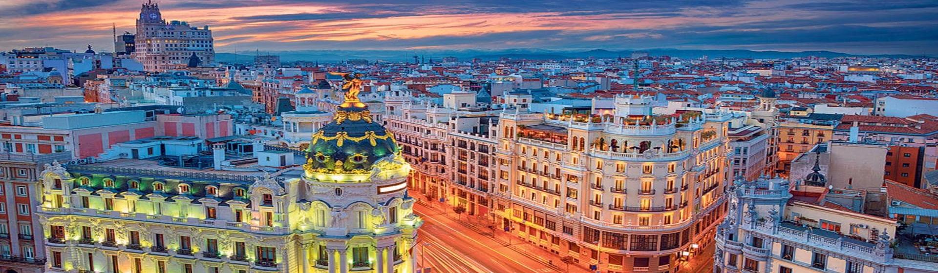 Despedida de soltero y soltera en Madrid. Viaje a Madrid.